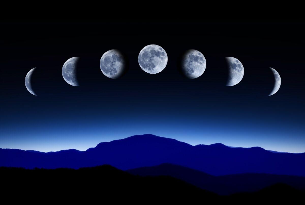 картинка новолуние рост луны утром канал