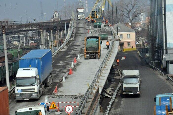 У порту Одеси взялися за реконструкцію шляхопроводу
