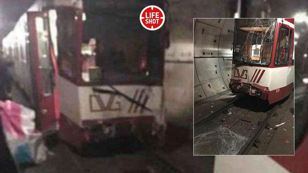 В Германии столкнулись поезда метро: десятки раненых