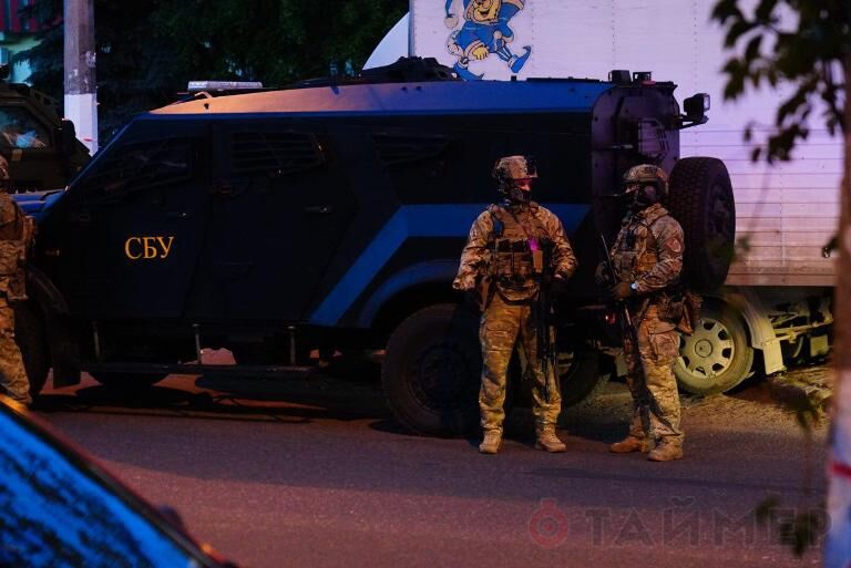 В Одесі помічено багато військової техніки