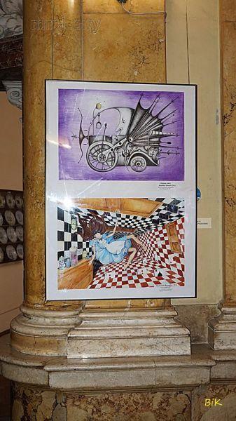 Во Львове выставили картины одаренных детей Мариуполя