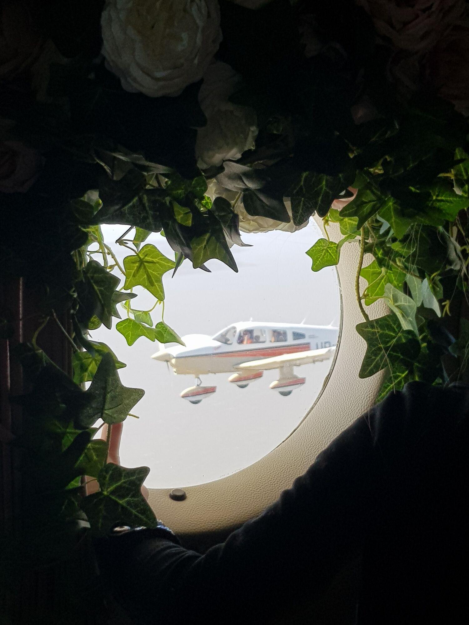 В Одессе пара поженилась на высоте 1000 м