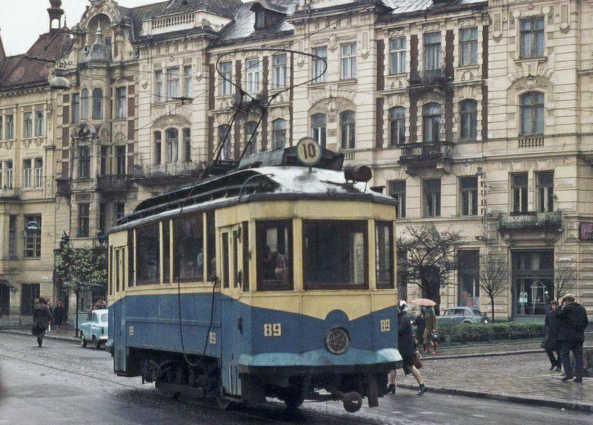 Типичный Львовский трамвай