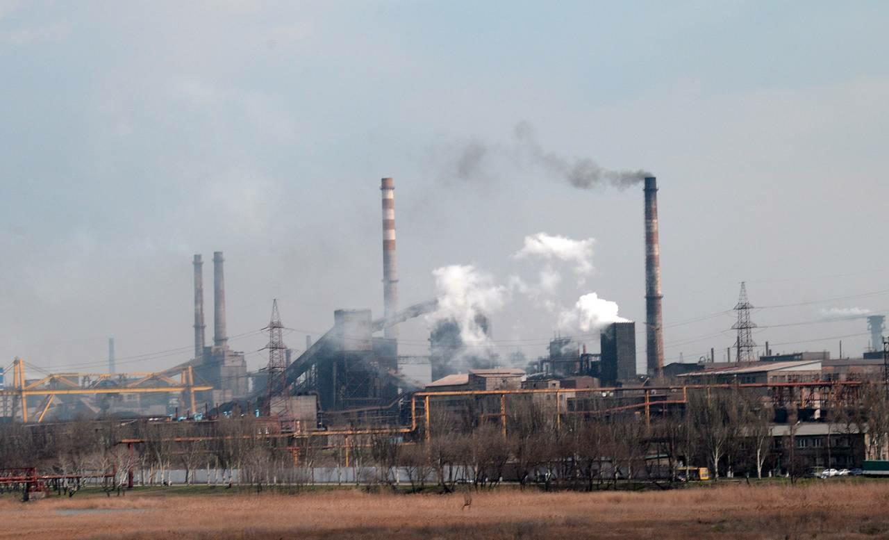 Предприятия украинской металлургии