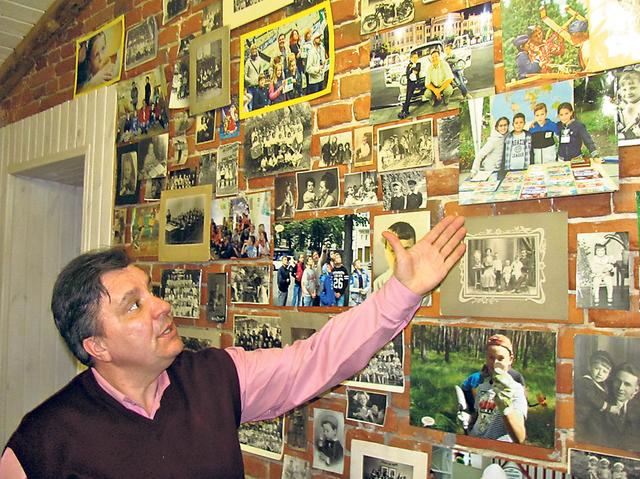 Засновник музею Валерій Лейко