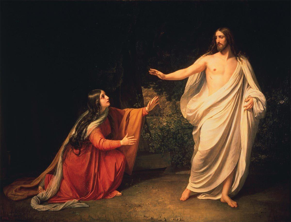 Александр Иванов, Явление Христа Марии Магдалине после воскресения
