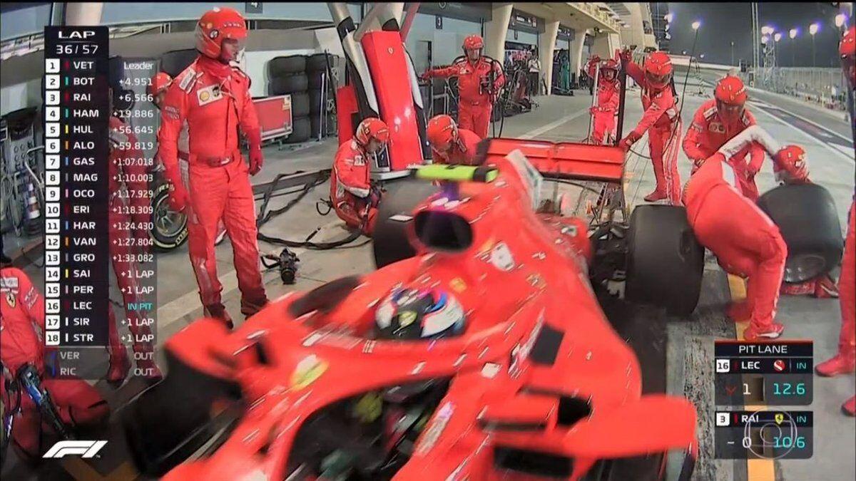 Ferrari сбила механика на Гран-при Бахрейна