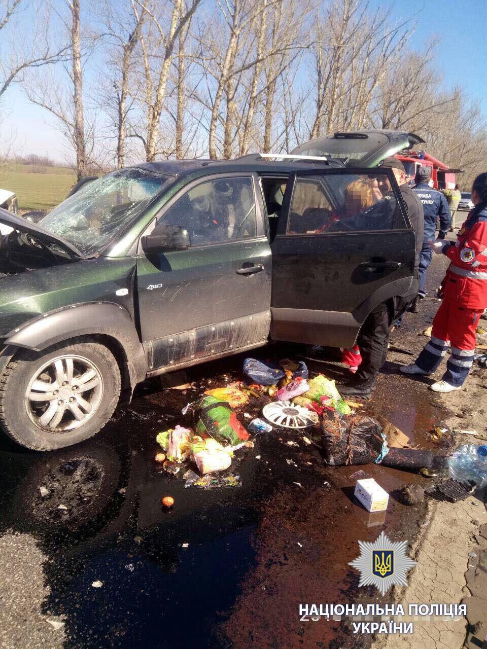 У ДТП на Харківщині загинула вся сім'я