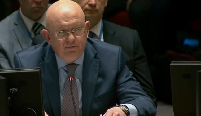 Росія нахабно висловилася про Сирію в ООН