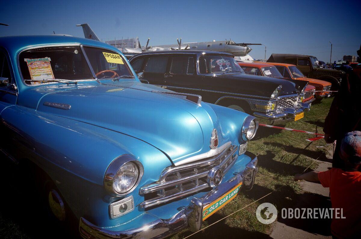 Виставка Old Car Land в Києві