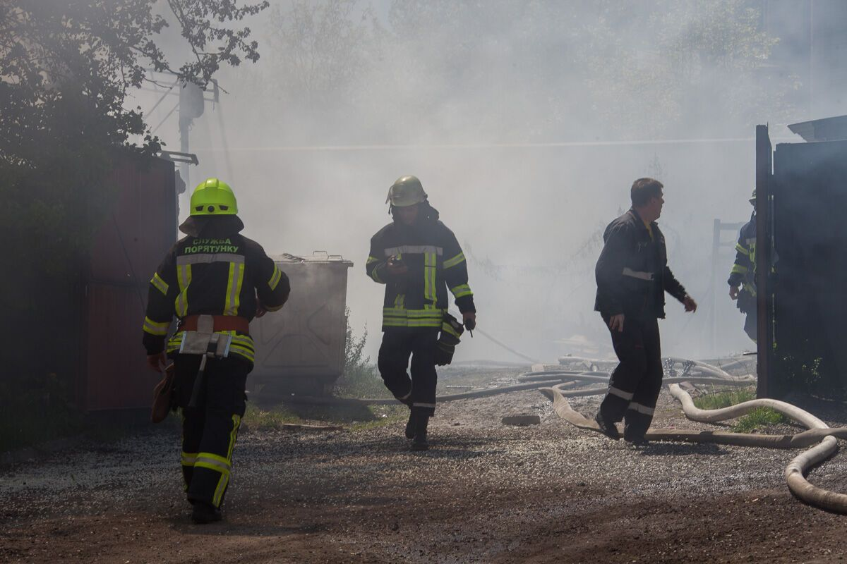 У центрі Дніпра трапилася страшна пожежа
