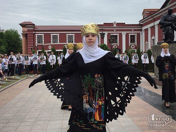 У Кривому Розі на 9 травня заспівали пісню про росіян в Сирії