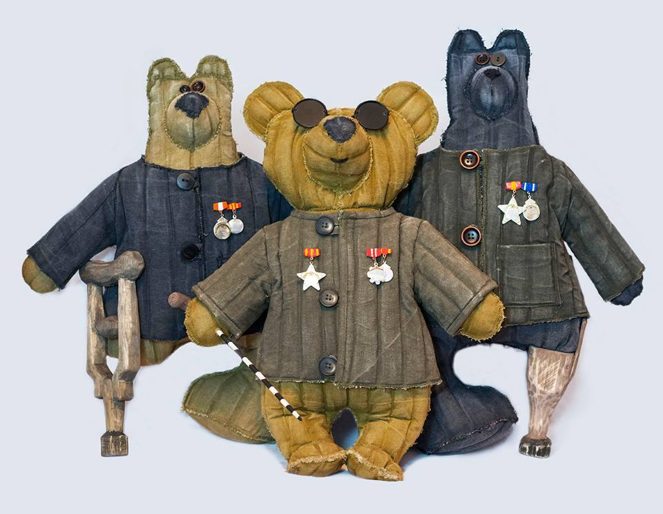 Медведи-инвалиды