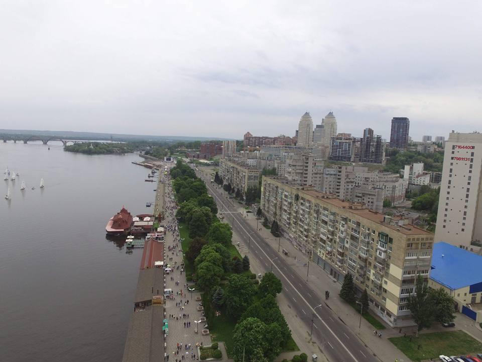 Як виглядає Дніпро з висоти: дивовижні фото і відео
