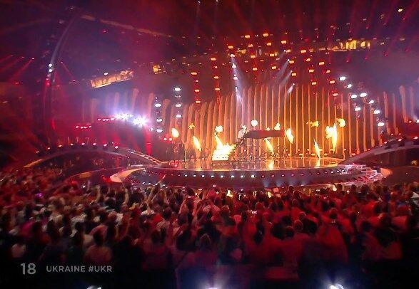 """Украина в финале: как выступил MELOVIN на """"Евровидении-2018"""""""