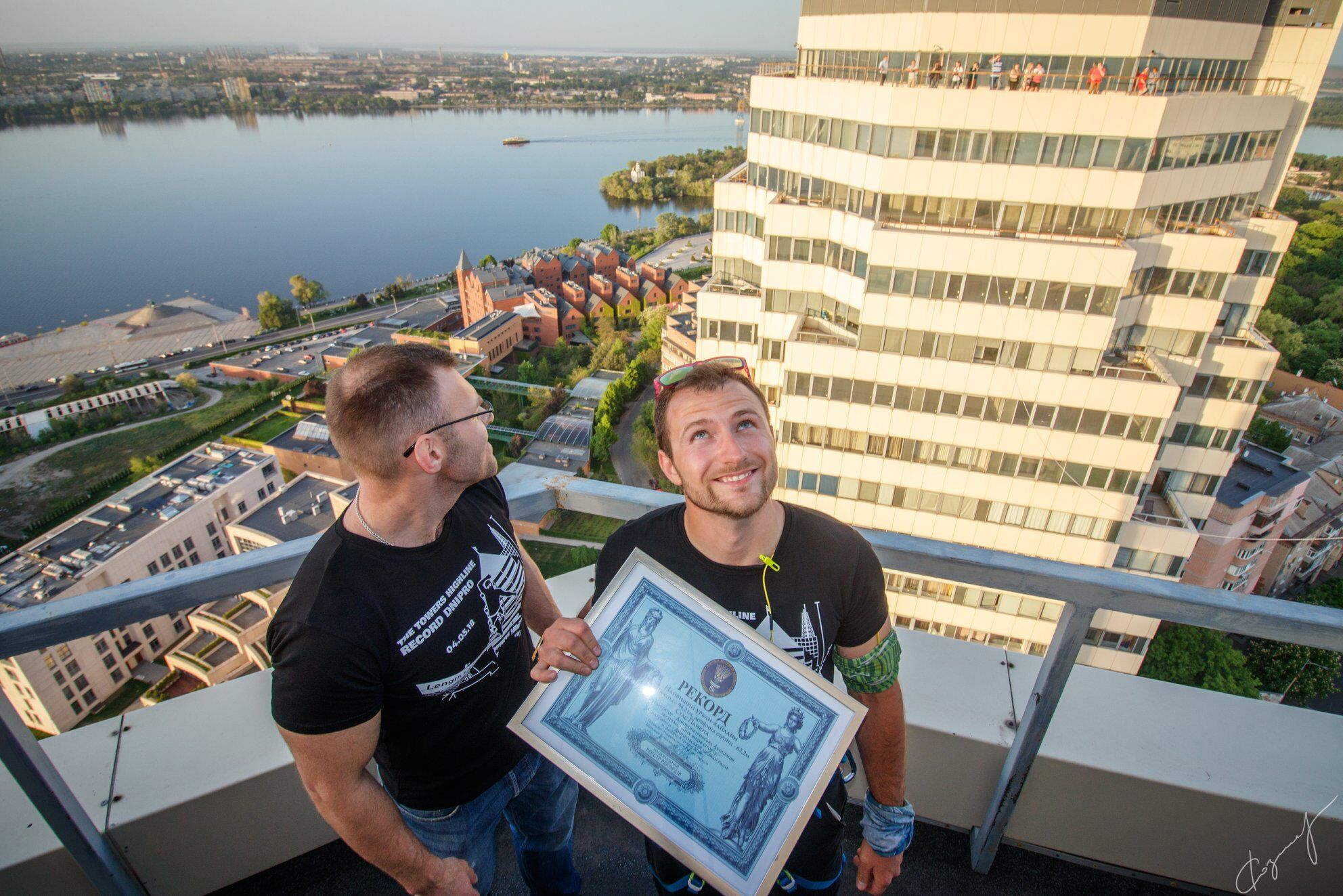 """""""Башни"""" в Днепре. Национальный рекорд Украины на высоте 94 метра"""