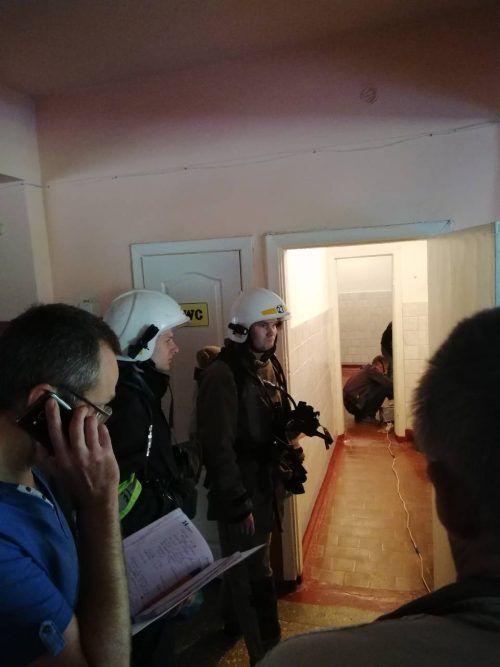 В українській школі масово евакуювали дітей