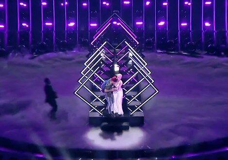 """На учасницю """"Євробачення"""" напали в прямому ефірі"""