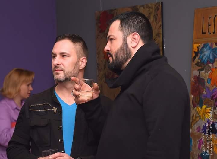 Валерій Петров (ліворуч) і Армандо Шадон