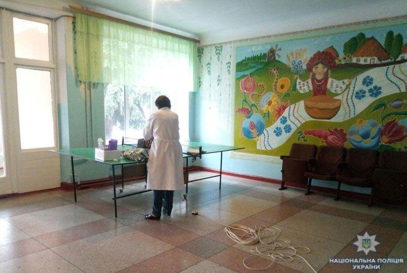В школе на Донетчине распылили газ: детали