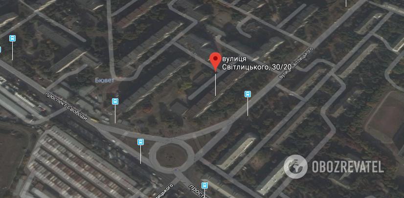 Угон авто на вул. Світлицького