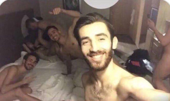 Турецкие спортсмены устроили оргию