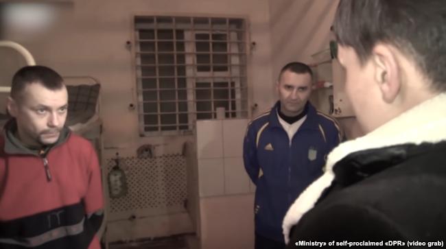 Надія Савченко навідувала полонених військовослужбовців у макіївській колонії двічі
