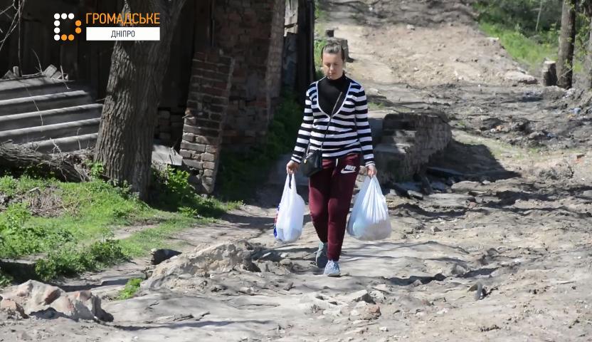 Марсіанські пейзажі: журналісти зняли фільм про вулицю Дніпра