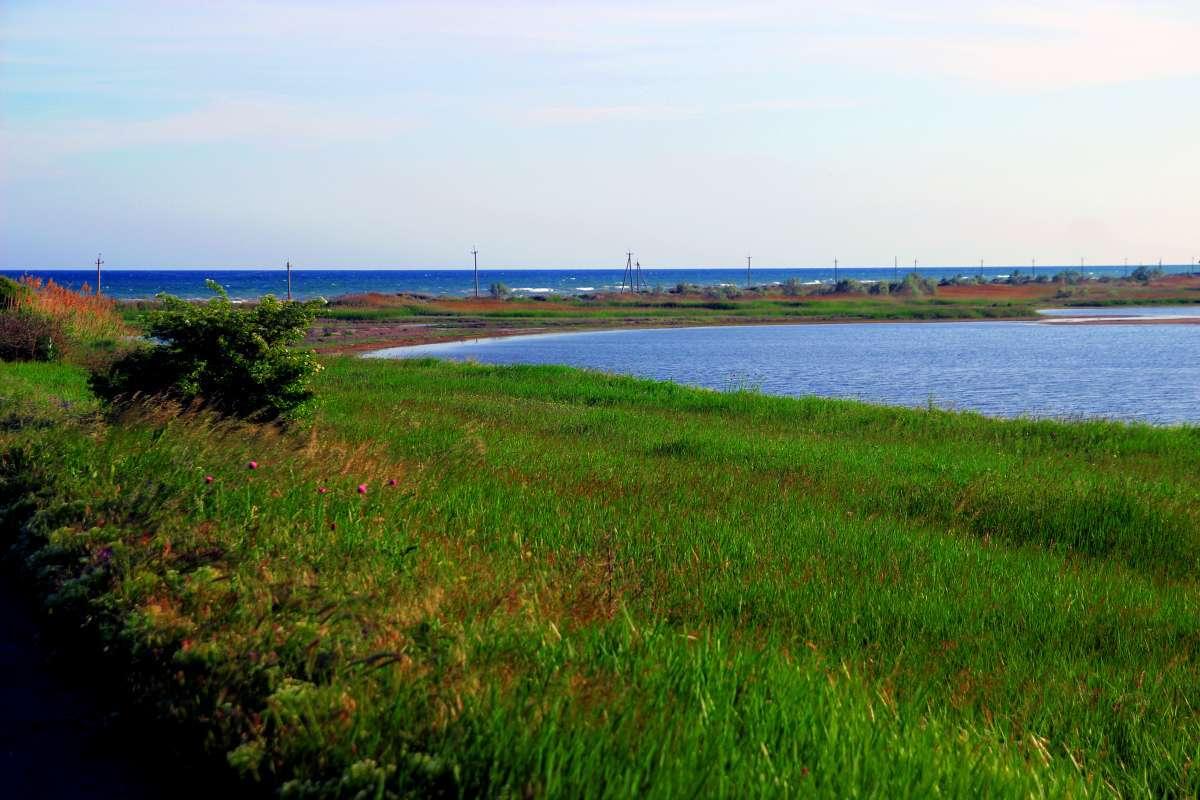 Как выглядит нулевой километр Тузловского лимана: фото