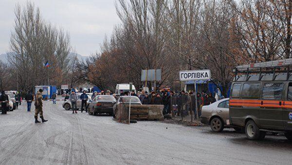 Обмен пленных 27 декабря 2017 года проходил вблизи Горловки