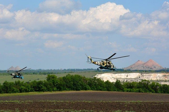"""ВСУ відпрацювали авіаудари по терористах """"Л/ДНР"""""""