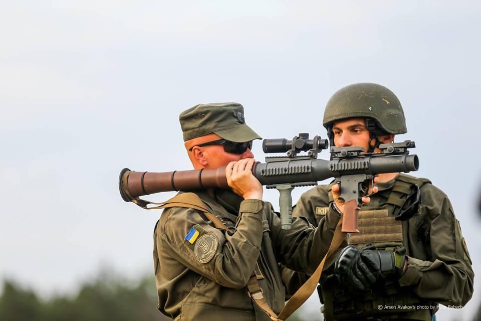 Нацгвардию вооружили летальным оружием из США