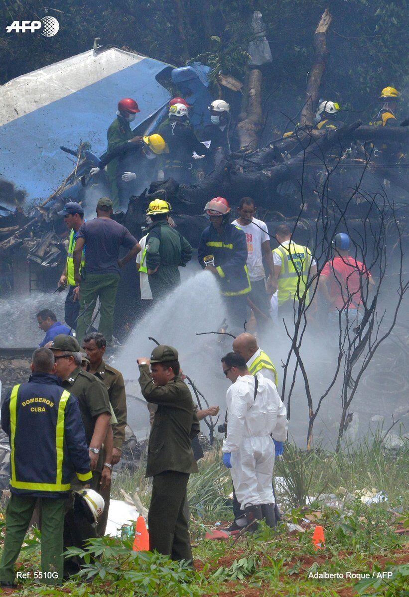 На Кубі розбився лайнер з сотнею пасажирів