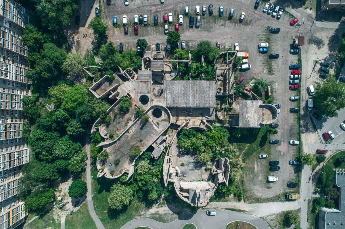 """Как выглядит """"Вавилонская башня"""" в Киеве"""