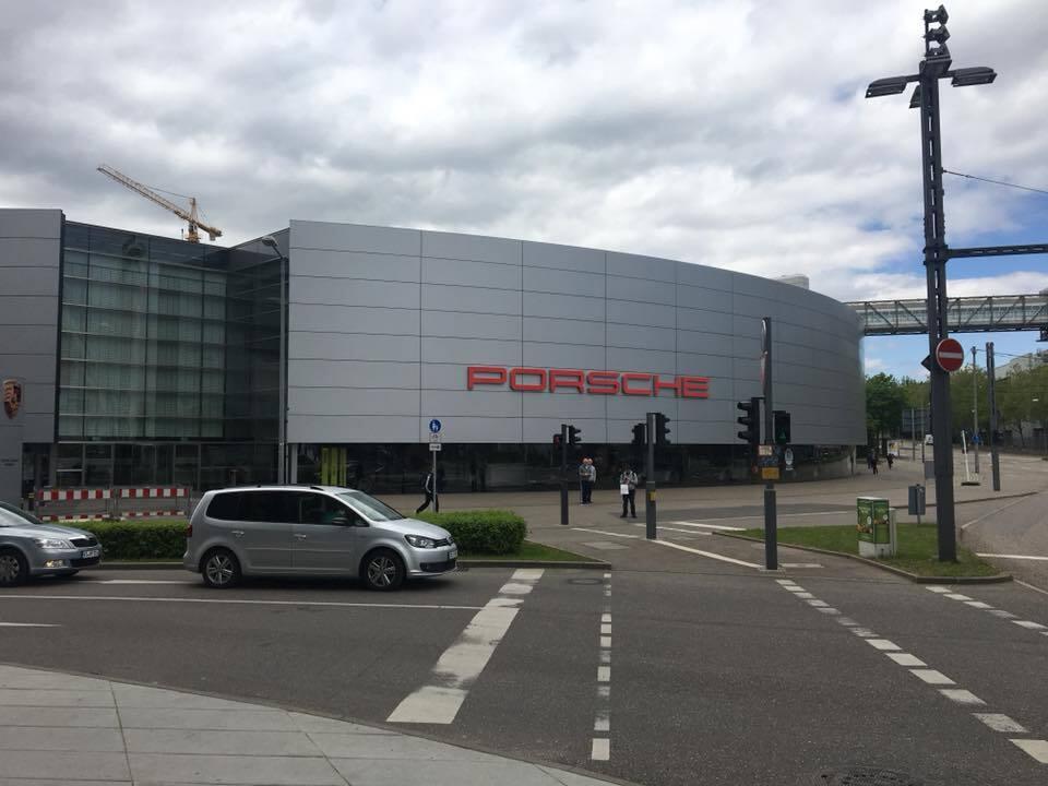 Музей Porsche в Штутгарте