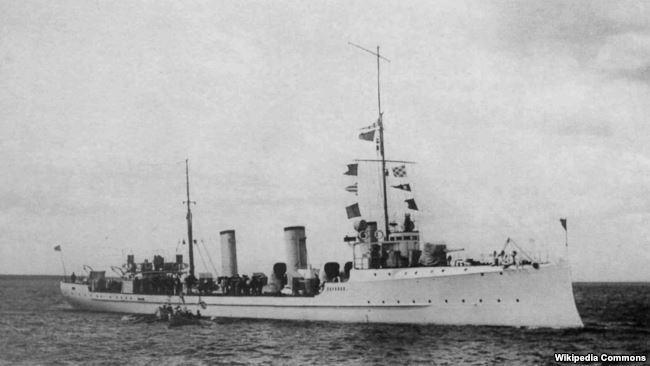 "Эсминец ""Украина"" Балтийского флота"