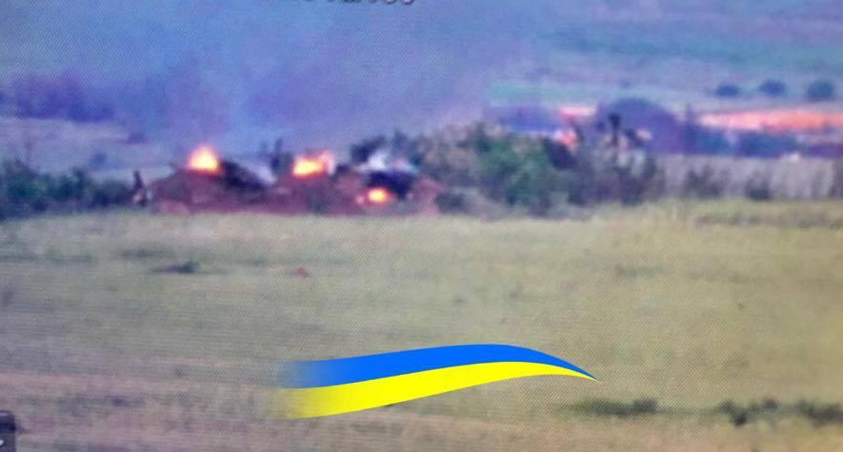 Українські військові знищили опорник ворога