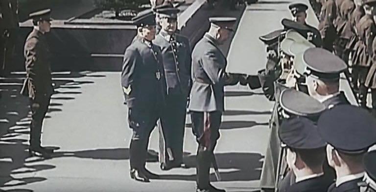 1 мая 1941 года. Нацисты на Красной площади. Парад в Москве