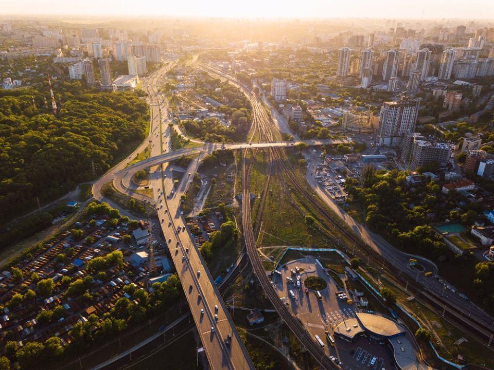 Киев с высоты: опубликованы невероятные фото
