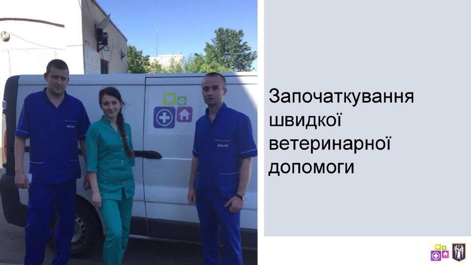 Швидка допомога для тварин в Києві: з'явилися деталі