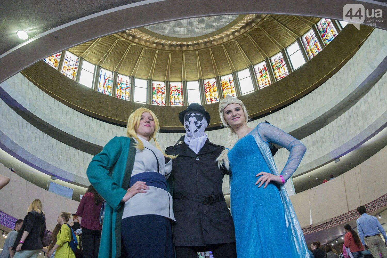 Киев заполонили супергерои комиксов и аниме: фоторепортаж
