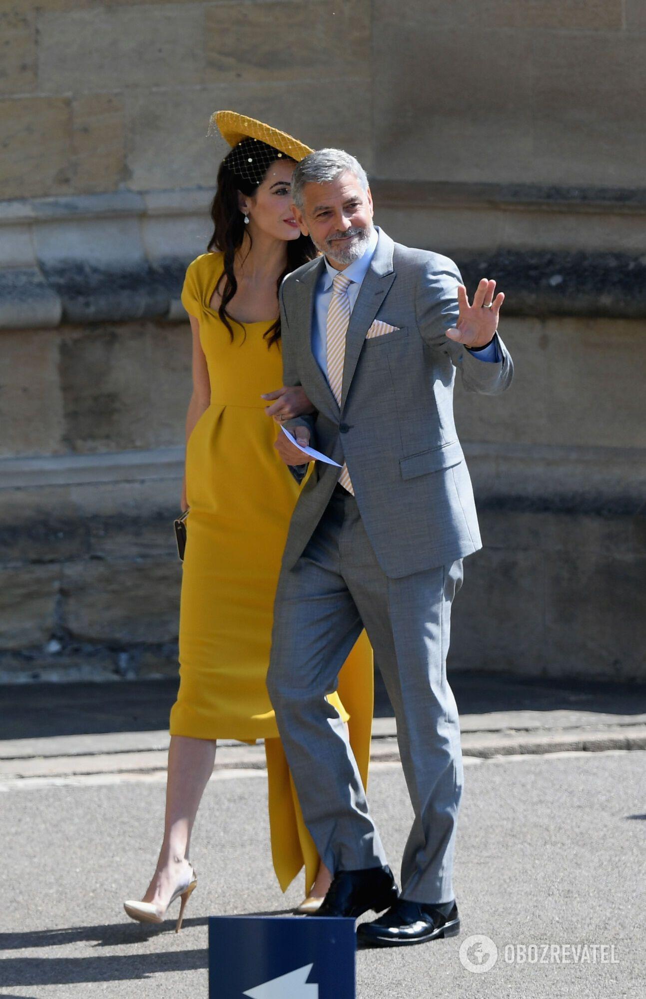 Весілля принца Гаррі: наряд Амаль Клуні