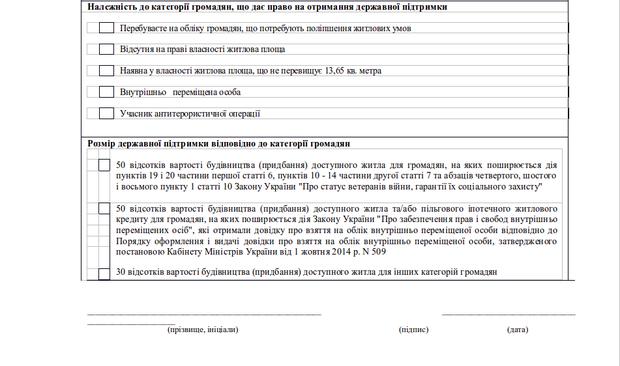 """""""Доступное жилье"""": как стать участником программы в Украине"""