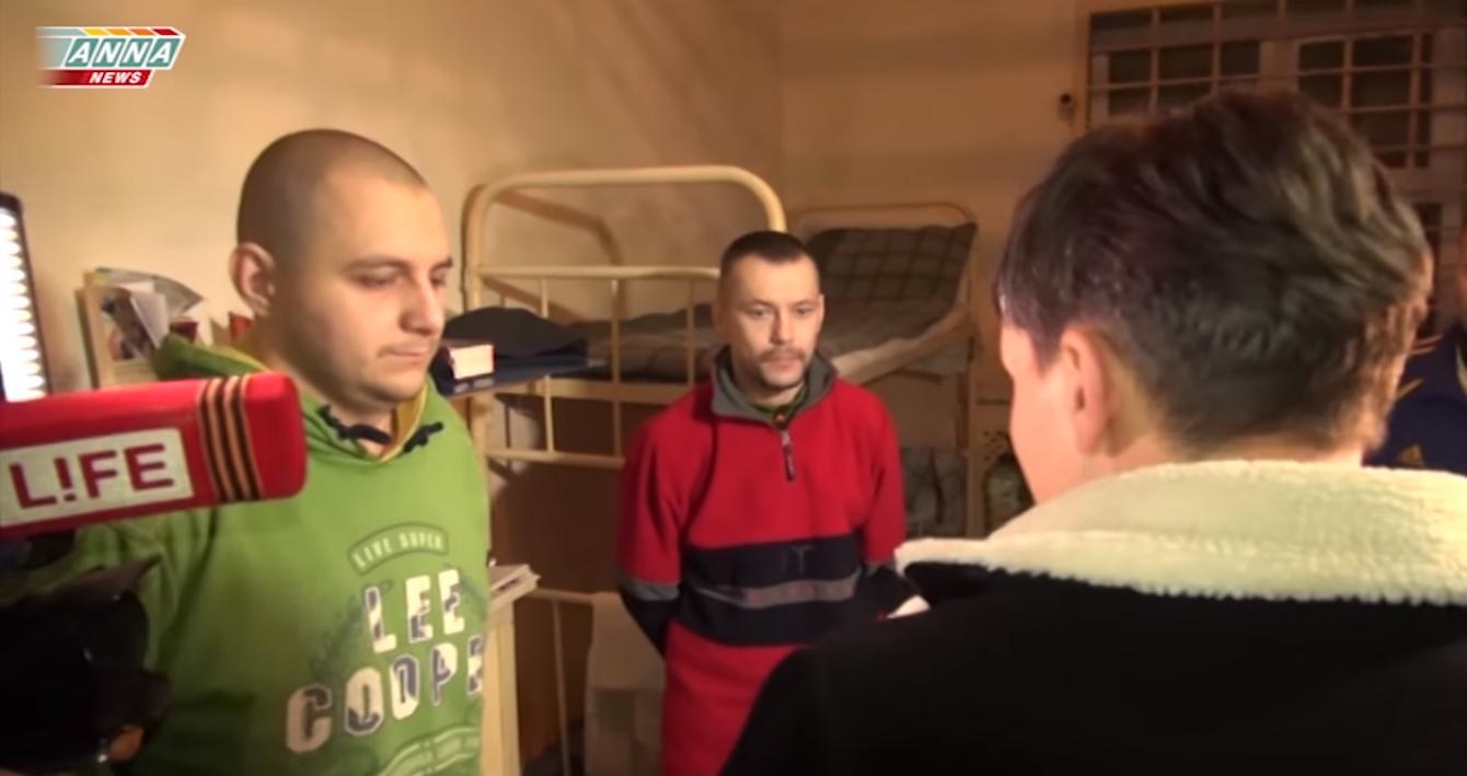 У макіївську колонію до полонених українців приїжджали російські пропагандисти