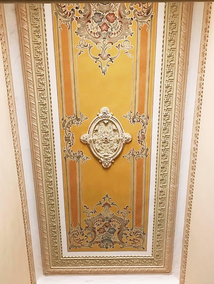 Старовинні будинки Києва: фото стель