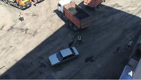 Під Києвом копи влаштували погоню зі стріляниною за дівчиною-водієм