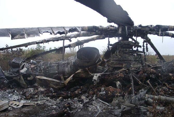 Террористы сбили вертолет, в котором летел генерал-майор Кульчицкий, 29 мая 2014 года