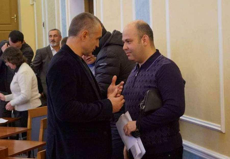 Сергій Гура разом із депутатом Черкаської облради Михайлом Бінусовим (убитий у 2017-му)