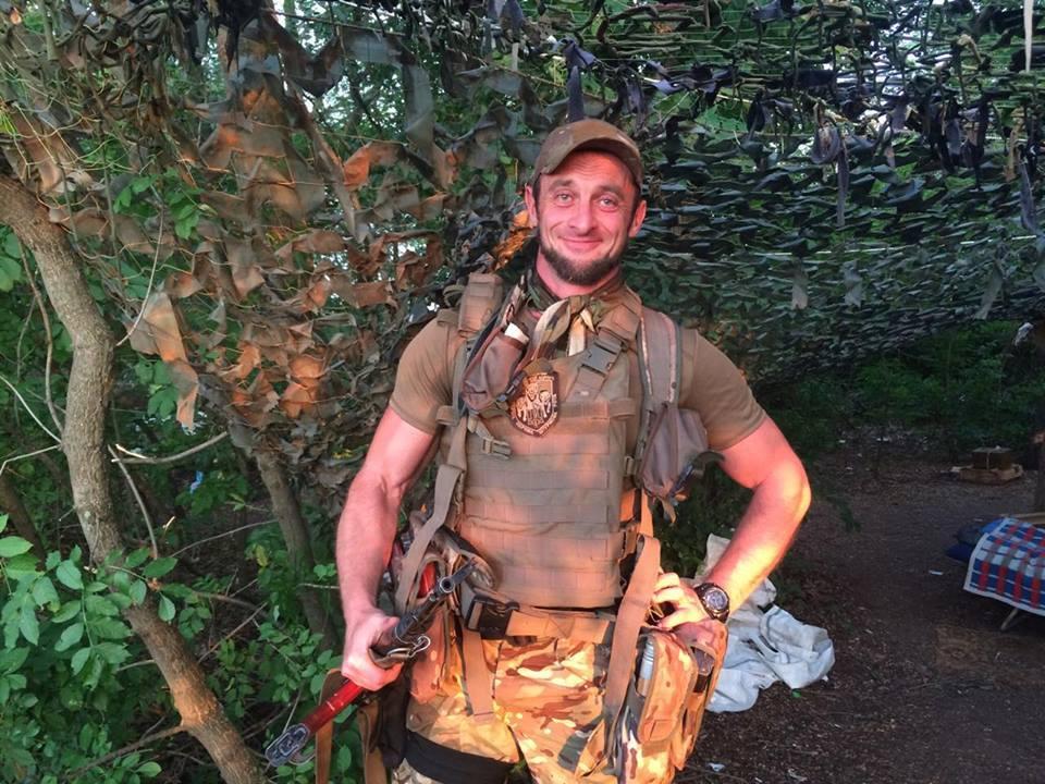 """Особистий охоронець """"Мотороли"""" захищає Україну"""