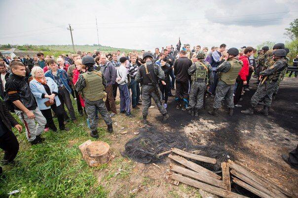 События под Андреевкой 2 мая 2014 года